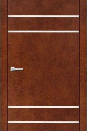 Міжкімнатна двері ALUMINIUM LOFT PLATO ALP-04