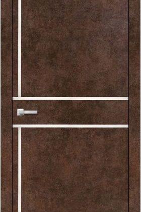 Міжкімнатна двері ALUMINIUM LOFT PLATO ALP-06